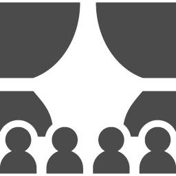 劇場アイコン アイコン素材ダウンロードサイト Icooon Mono 商用利用可能なアイコン素材が無料 フリー ダウンロードできるサイト