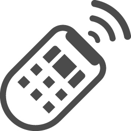 リモコンの無料イラスト3 アイコン素材ダウンロードサイト Icooon Mono 商用利用可能なアイコン素材が無料 フリー ダウンロードできるサイト