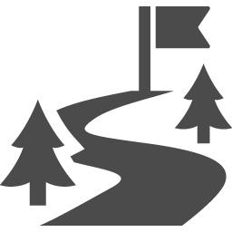 目的地アイコン2 アイコン素材ダウンロードサイト Icooon Mono 商用利用可能なアイコン素材が無料 フリー ダウンロードできるサイト