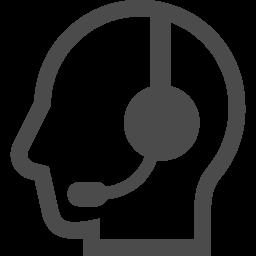 テレフォンオペレーター アイコン素材ダウンロードサイト Icooon Mono 商用利用可能なアイコン素材が無料 フリー ダウンロードできるサイト