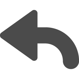 返信矢印2 アイコン素材ダウンロードサイト Icooon Mono 商用利用可能なアイコン素材が無料 フリー ダウンロードできるサイト