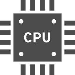 Cpuのフリー素材2 アイコン素材ダウンロードサイト Icooon Mono 商用利用可能なアイコン素材が無料 フリー ダウンロードできるサイト