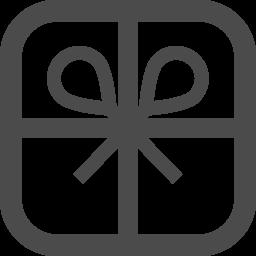 プレゼントの無料アイコン アイコン素材ダウンロードサイト Icooon Mono 商用利用可能なアイコン素材が無料 フリー ダウンロードできるサイト