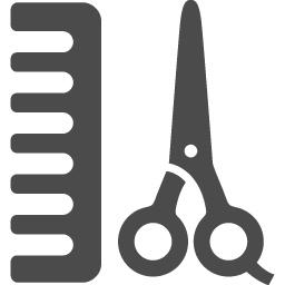 ヘアサロンアイコン2 アイコン素材ダウンロードサイト Icooon Mono 商用利用可能なアイコン素材が無料 フリー ダウンロードできるサイト