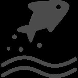 魚アイコン アイコン素材ダウンロードサイト Icooon Mono 商用利用可能なアイコン素材が無料 フリー ダウンロードできるサイト