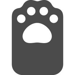 猫の手のフリー素材1 アイコン素材ダウンロードサイト Icooon Mono 商用利用可能なアイコン素材が無料 フリー ダウンロードできるサイト