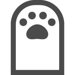 猫の手アイコン3 アイコン素材ダウンロードサイト Icooon Mono 商用利用可能なアイコン素材が無料 フリー ダウンロードできるサイト