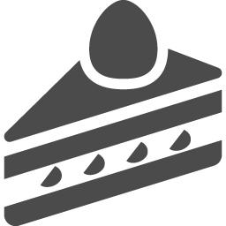 ショートケーキアイコン アイコン素材ダウンロードサイト Icooon Mono 商用利用可能なアイコン 素材が無料 フリー ダウンロードできるサイト