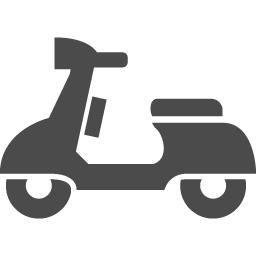 原付バイクアイコン アイコン素材ダウンロードサイト Icooon Mono 商用利用可能なアイコン素材が無料 フリー ダウンロードできるサイト