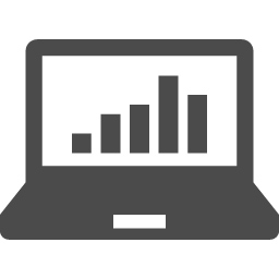 業績グラフアイコン アイコン素材ダウンロードサイト Icooon Mono 商用利用可能なアイコン素材が無料 フリー ダウンロードできるサイト