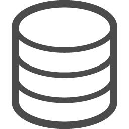 データベースアイコン1 アイコン素材ダウンロードサイト Icooon Mono 商用利用可能なアイコン素材が無料 フリー ダウンロードできるサイト