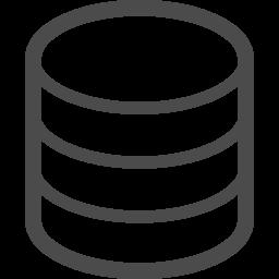 データベースアイコン1 アイコン素材ダウンロードサイト Icooon Mono 商用利用可能なアイコン素材 が無料 フリー ダウンロードできるサイト