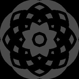 万華鏡アイコン アイコン素材ダウンロードサイト Icooon Mono 商用利用可能なアイコン素材が無料 フリー ダウンロードできるサイト