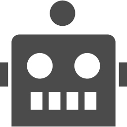 ロボットアイコン1 アイコン素材ダウンロードサイト Icooon Mono 商用利用可能なアイコン素材が無料 フリー ダウンロードできるサイト
