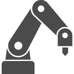 ロボットアームアイコン1 アイコン素材ダウンロードサイト Icooon Mono 商用利用可能なアイコン 素材が無料 フリー ダウンロードできるサイト