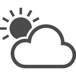 天気の無料イラスト5 アイコン素材ダウンロードサイト Icooon Mono 商用利用可能なアイコン素材が無料 フリー ダウンロードできるサイト