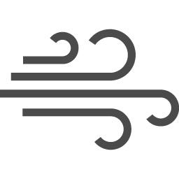 強風アイコン2 アイコン素材ダウンロードサイト Icooon Mono 商用利用可能なアイコン素材が無料 フリー ダウンロードできるサイト