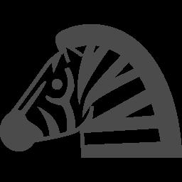 シマウマのイラスト素材 アイコン素材ダウンロードサイト Icooon Mono 商用利用可能なアイコン素材が無料 フリー ダウンロードできるサイト