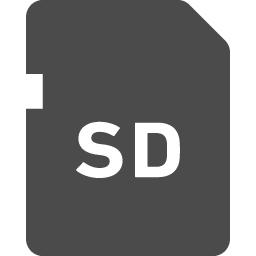 Sdカードのフリー素材1 アイコン素材ダウンロードサイト Icooon Mono 商用利用可能なアイコン素材が無料 フリー ダウンロードできるサイト