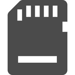 Sdカードアイコン2 アイコン素材ダウンロードサイト Icooon Mono 商用利用可能なアイコン素材が無料 フリー ダウンロードできるサイト