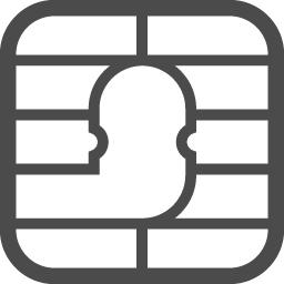 Simカードの無料アイコン3 アイコン素材ダウンロードサイト Icooon Mono 商用利用可能なアイコン素材が無料 フリー ダウンロードできるサイト