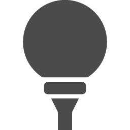 ゴルフボールアイコン アイコン素材ダウンロードサイト Icooon Mono 商用利用可能なアイコン素材が無料 フリー ダウンロード できるサイト