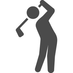 ゴルフの無料アイコン アイコン素材ダウンロードサイト Icooon Mono 商用利用可能なアイコン素材が無料 フリー ダウンロードできるサイト