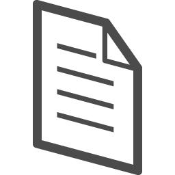 書類アイコン アイコン素材ダウンロードサイト Icooon Mono 商用利用可能なアイコン素材が無料 フリー ダウンロードできるサイト