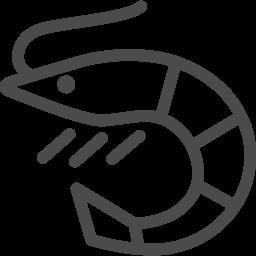 海老のイラスト素材2 アイコン素材ダウンロードサイト Icooon Mono 商用利用可能なアイコン素材が無料 フリー ダウンロードできるサイト