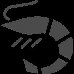 海老アイコン3 アイコン素材ダウンロードサイト Icooon Mono 商用利用可能なアイコン素材が無料 フリー ダウンロードできるサイト