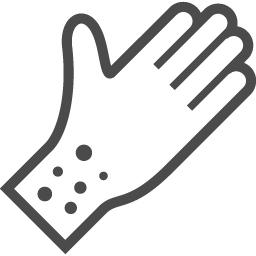 アレルギーアイコン1 アイコン素材ダウンロードサイト Icooon Mono 商用利用可能なアイコン 素材が無料 フリー ダウンロードできるサイト