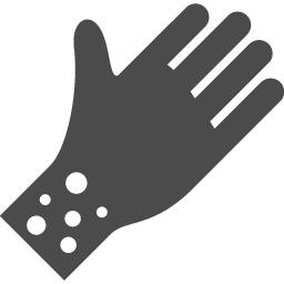 アレルギーのフリーアイコン2 アイコン素材ダウンロードサイト Icooon Mono 商用利用可能なアイコン 素材が無料 フリー ダウンロードできるサイト