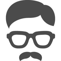 めがねおじさん アイコン素材ダウンロードサイト Icooon Mono 商用利用可能なアイコン素材が無料 フリー ダウンロードできるサイト