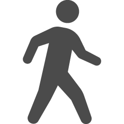 歩くアイコン アイコン素材ダウンロードサイト Icooon Mono 商用利用可能なアイコン素材が無料 フリー ダウンロードできるサイト