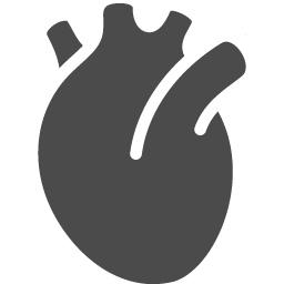 心臓アイコン2 アイコン素材ダウンロードサイト Icooon Mono 商用利用可能なアイコン素材が無料 フリー ダウンロードできるサイト