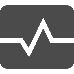 心電図のフリーアイコン アイコン素材ダウンロードサイト Icooon Mono 商用利用可能なアイコン素材が無料 フリー ダウンロードできるサイト