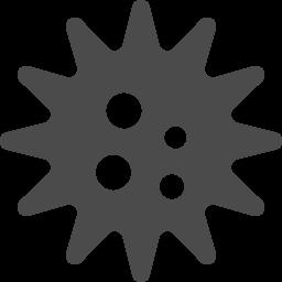 ウィルスの無料アイコン アイコン素材ダウンロードサイト Icooon Mono 商用利用可能なアイコン素材が無料 フリー ダウンロードできるサイト