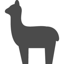 アルパカアイコン2 アイコン素材ダウンロードサイト Icooon Mono 商用利用可能なアイコン素材が無料 フリー ダウンロードできるサイト