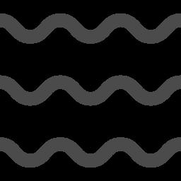 波アイコン2 アイコン素材ダウンロードサイト Icooon Mono 商用利用可能なアイコン素材が無料 フリー ダウンロードできるサイト