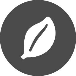 葉っぱのフリー素材 アイコン素材ダウンロードサイト Icooon Mono 商用利用可能なアイコン素材が無料 フリー ダウンロードできるサイト